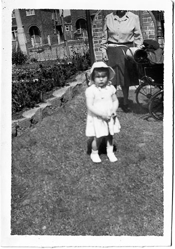 Young Girl in Garden